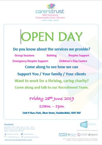 Carers Trust Open Day